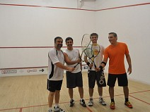1º dia do Byter Open de Squash